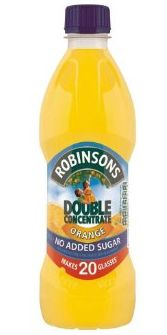 Robinsons squash 500ml double concentrate