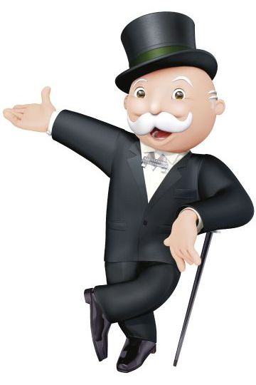 Mr Monopoly should be Directing the Traffic jam on Wood Street go back 3 spaces