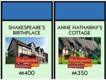 Shaksespeare's Birthplace Monopoly